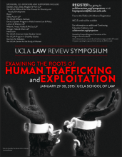 Trafficking Symposium Poster