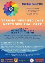 Trauma Informed Flyer thumbnail